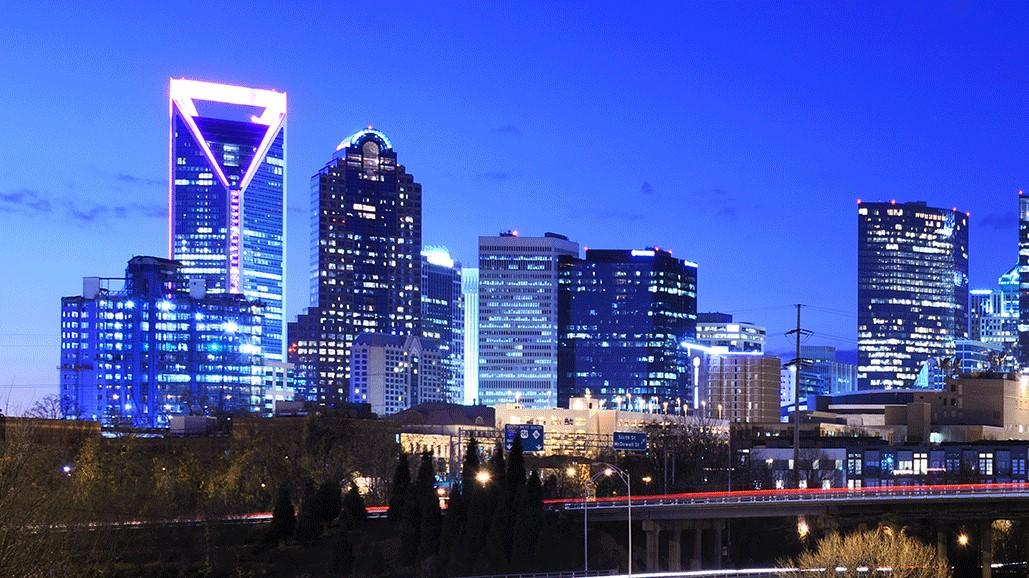 Christmas Lights In Charlotte 2021 Charlotte Lights Wells Fargo Stories